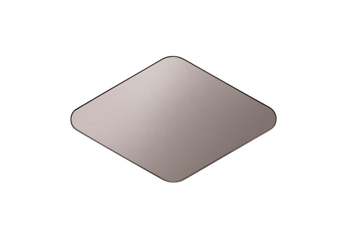 MATRIX mirror, Mirror with metal perimeter profile