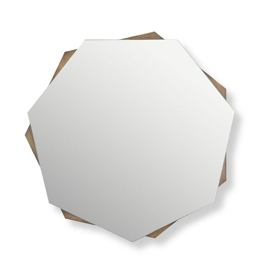 Mirage mirror, Mirror with a geometric design