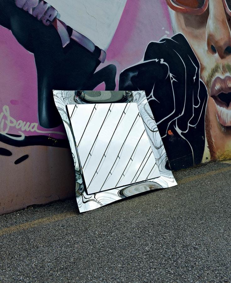 Nexus s 392N, Mirror with crystal fused frame