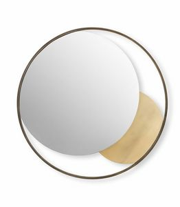 Oasi mirror, Decorative round mirror