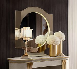Oliver Art. OL80/S, Round mirror for bedroom