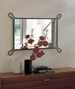 Pass, Mirror with iron frame