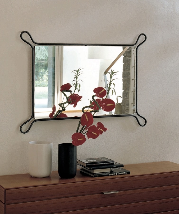 Pass, Mirror with iron frame