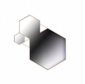 Rockstar mirror, Hexagonal mirrors