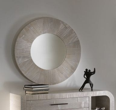 Specchio Kristal, Round mirror in ethnic style