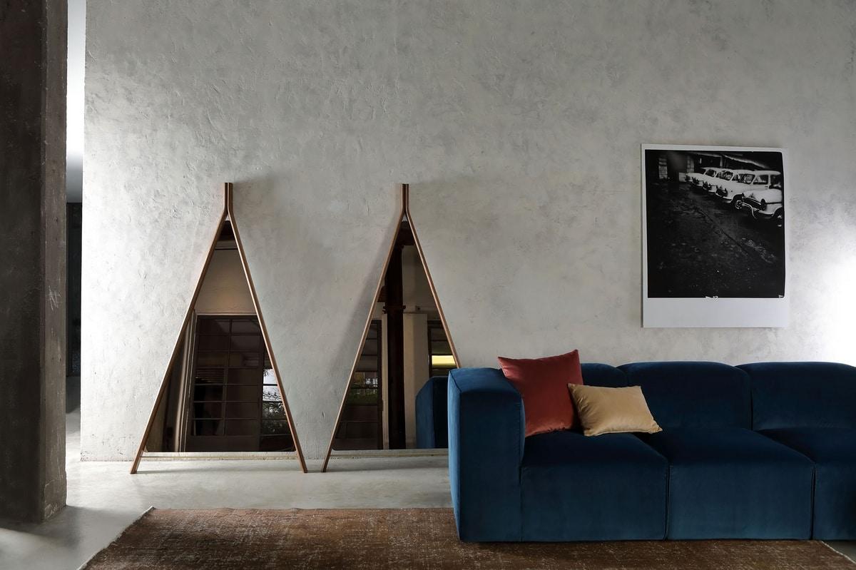 SUITE, Triangular mirror
