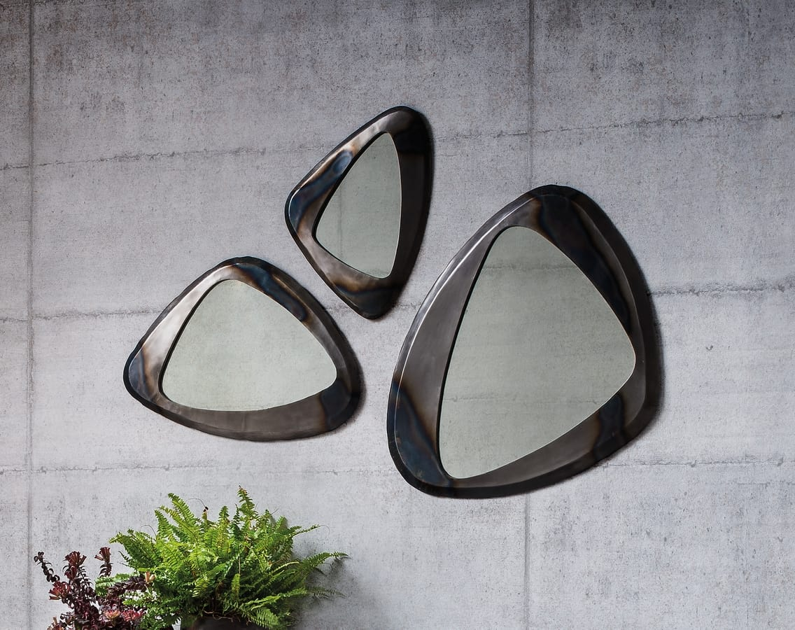Terno, Mirror with metal frame