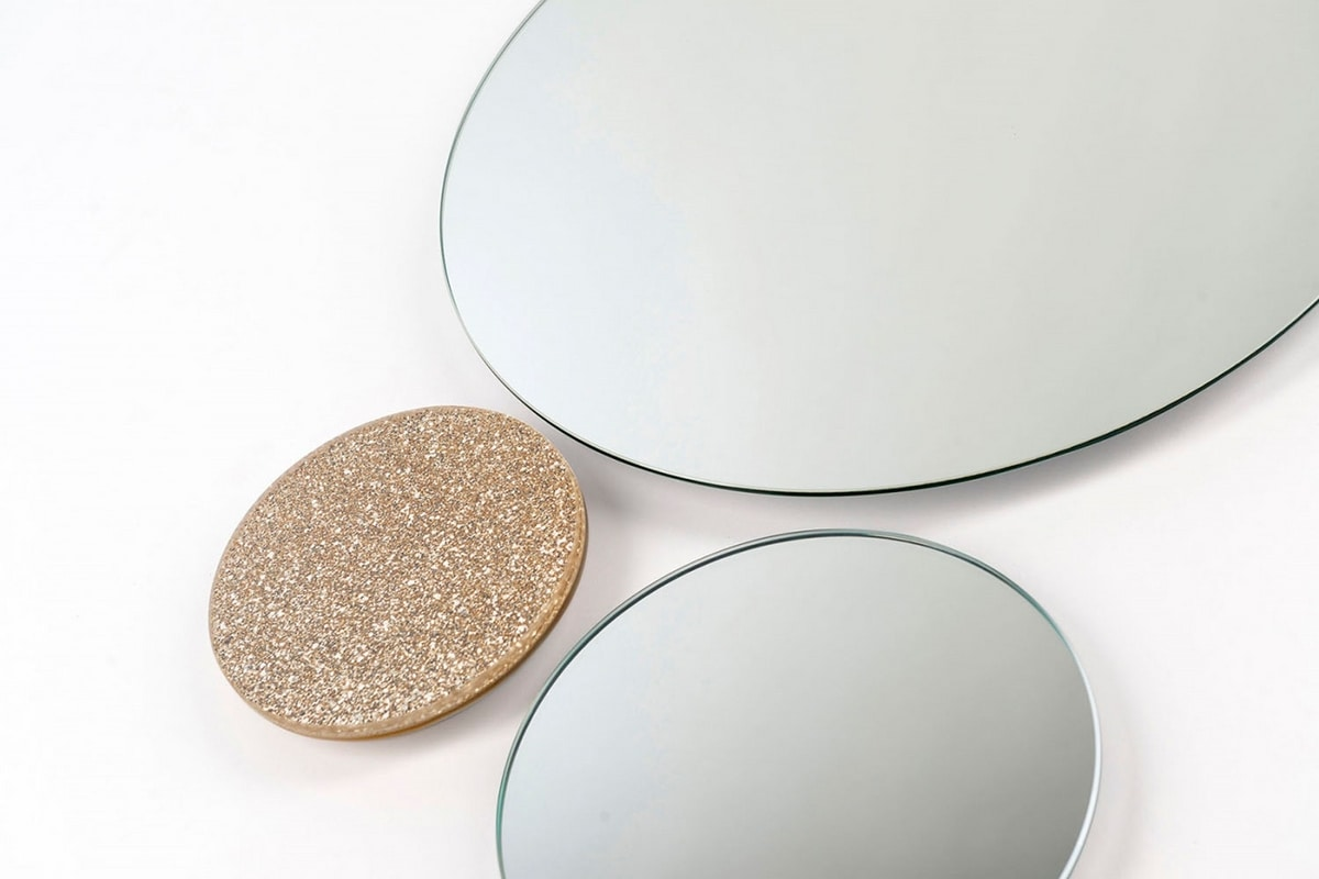 Uranus mirror, Modern design wall mirror