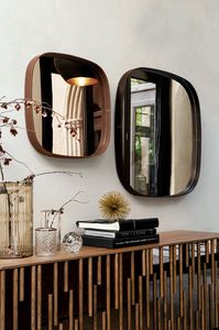 VEGA, Mirrors with leather frames