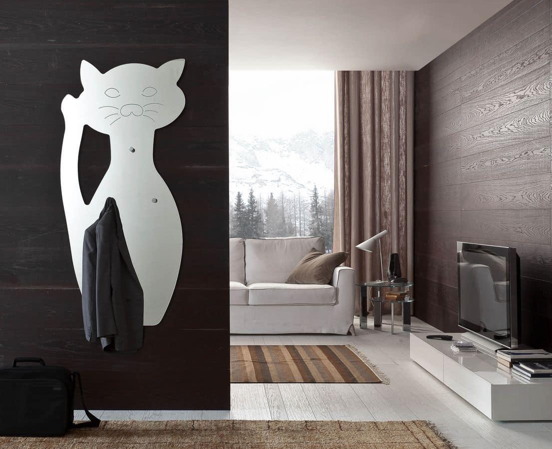 k 191 fufi, Modern mirror cat shaped