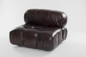 Adam, Leather armchair with memory foam padding