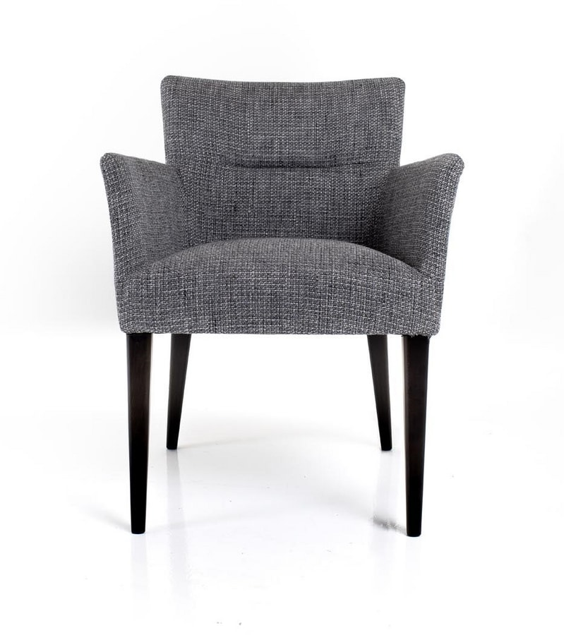 Ariana, Armchair with soft padding
