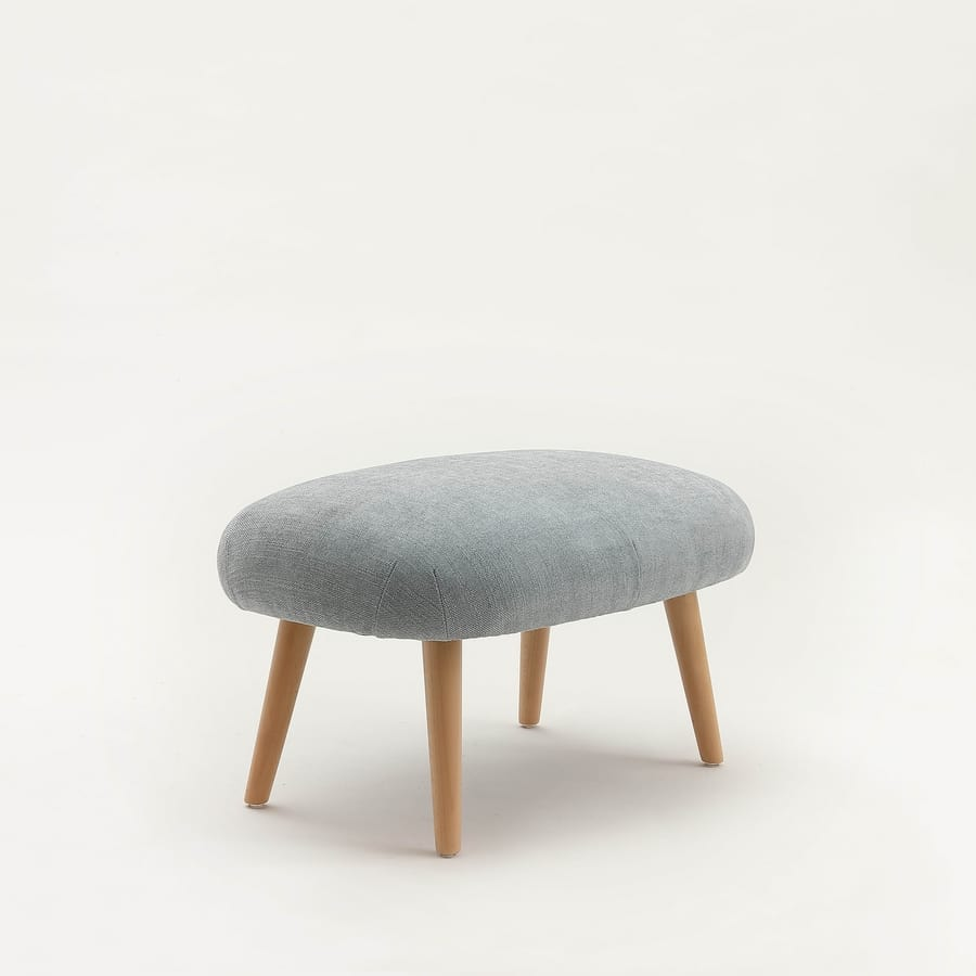 Art. 394 Candy, Lounge armchair, with pouf