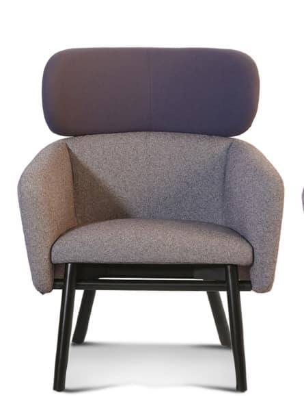 ART. 0054 BALÙ Lounge, Comfortable armchair, for relaxation and conversation areas
