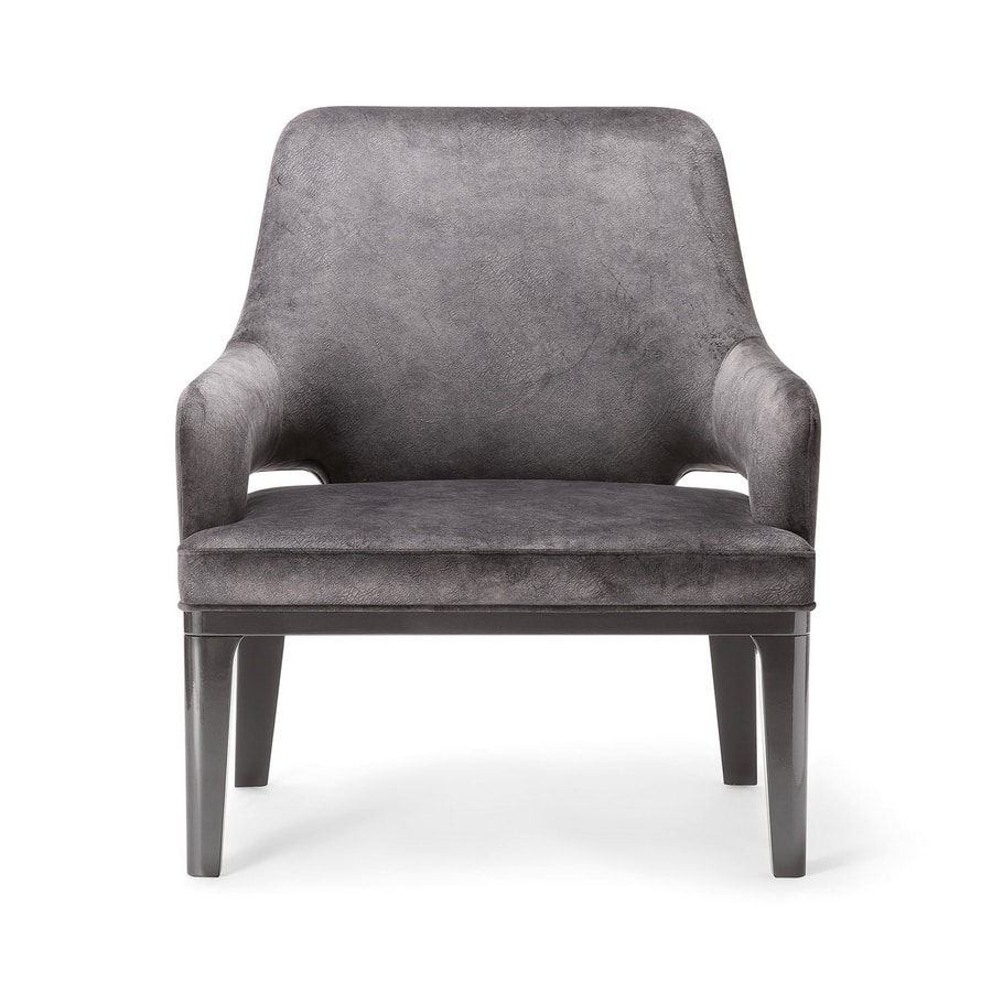 ASPEN LOUNGE CHAIR 078 P, Upholstered lounge chair