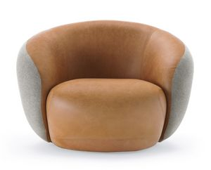 Botero Armchair, Comfort armchair for waiting rooms