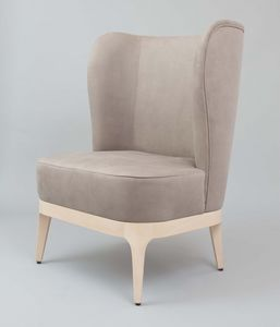 BS452A - Armchair, Armchair with high back
