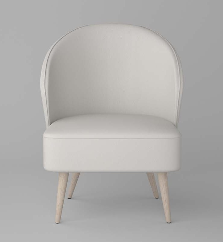 BS468P - Armchair, Armchair without armrests
