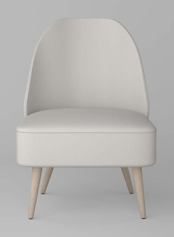 BS476P - Armchair, Armchair without armrests