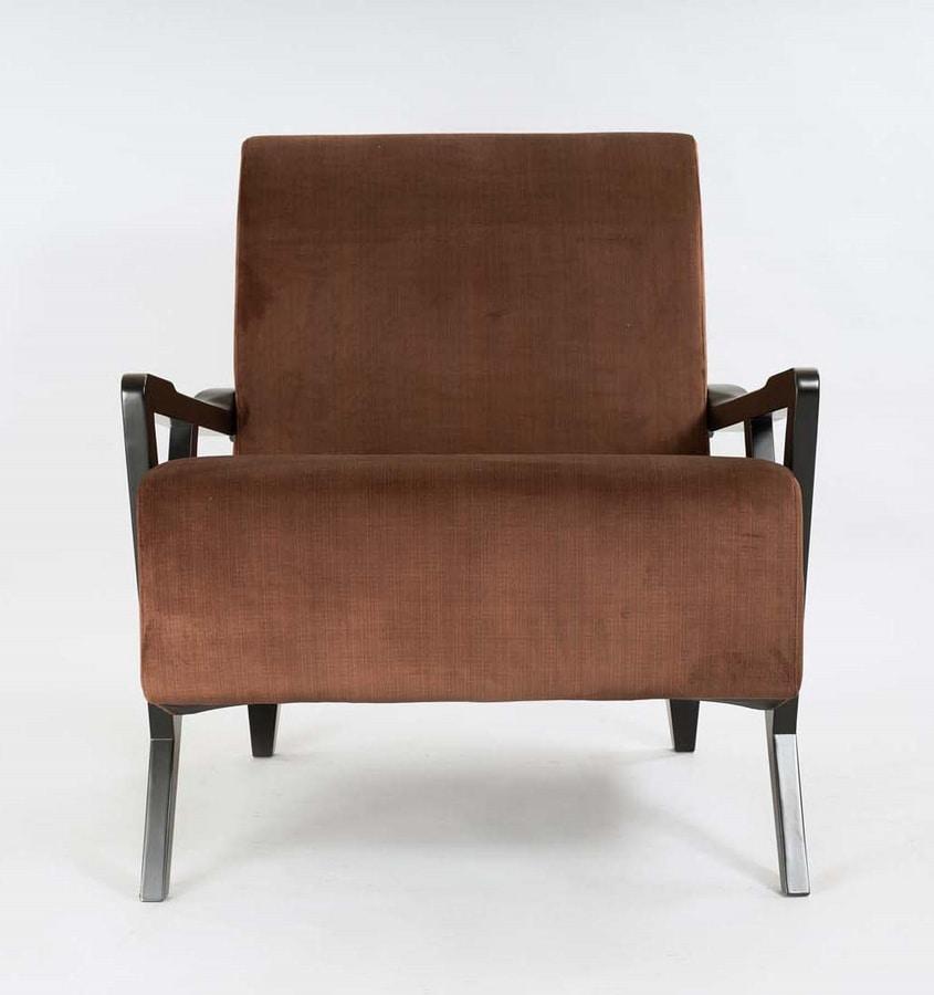 BS503A – Poltrona, Contemporary design armchair