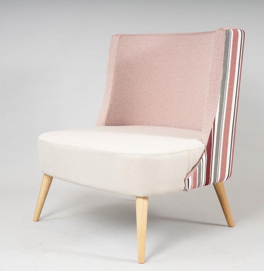 BS533A - Armchair, Comfortable armchair with high backrest