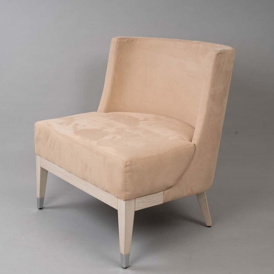 BS600A – Armchair, Armchair with rounded back