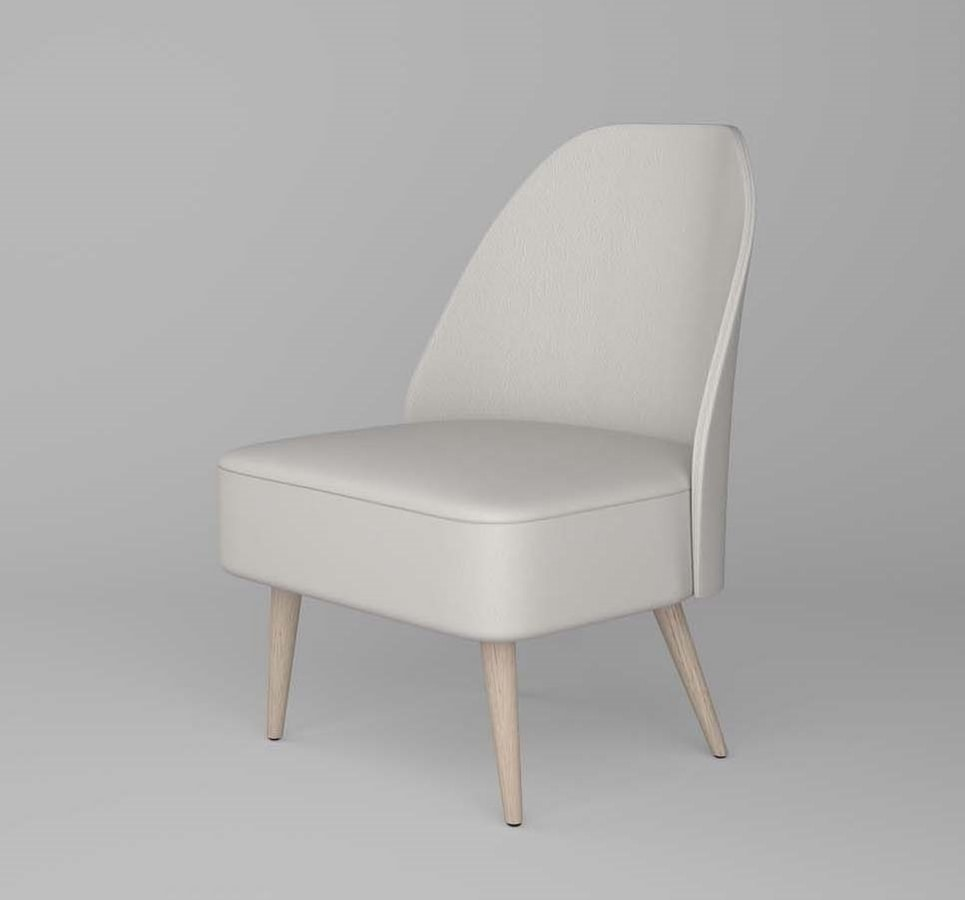 C59, Armchair with rounded back