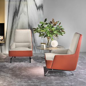 Cassandra armchair, Armchair for spaces dedicated to hospitality