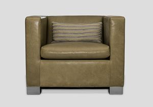 Suite, Squared leather armchair