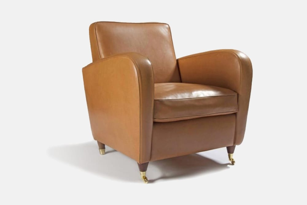 charme armchair with modern lines 3
