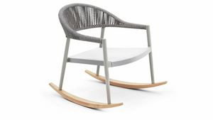 Clever rocking lounge, Outdoor rocking armchair