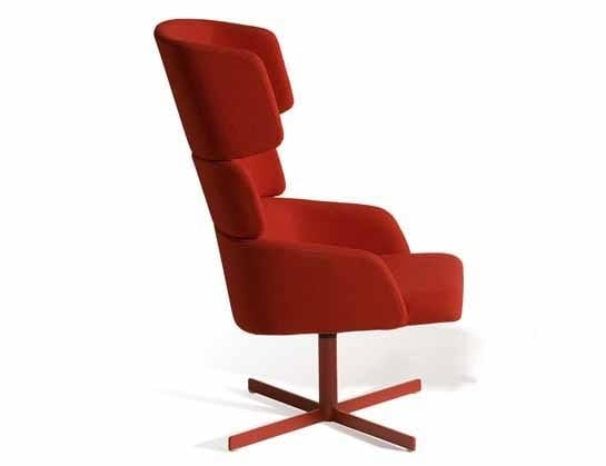 Concord 527UCF, Swiveling relax armchair with balancing backrest