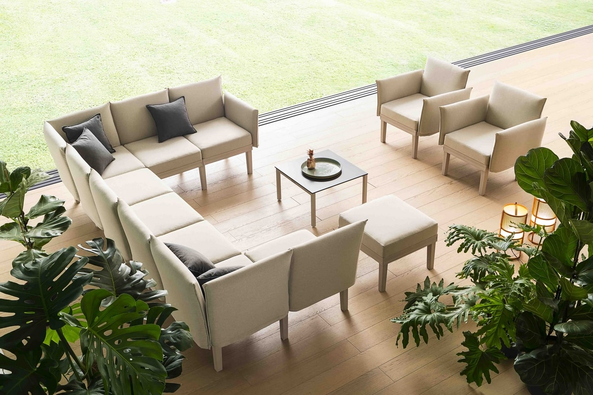 Conga, High comfort armchair