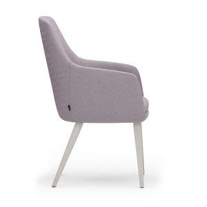 Danielle 03631, Armchair with high backrest