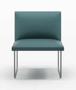 DOMINO, Modular armchair for waiting rooms