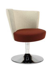 ELIPSE 10G, Swivel armchair for waiting rooms