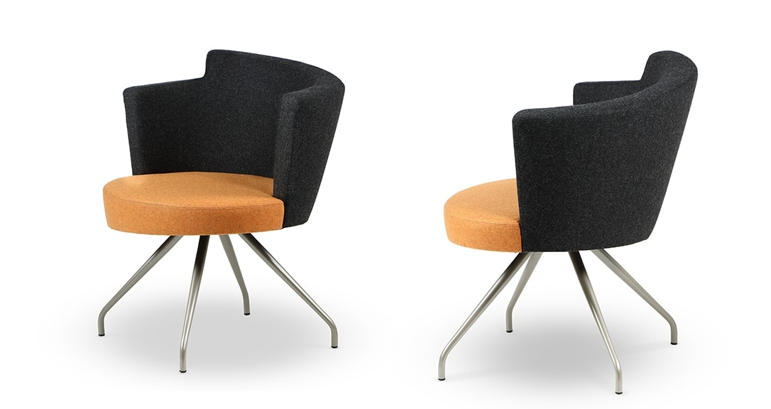 ELIPSE 1FX, Armchair for waiting areas