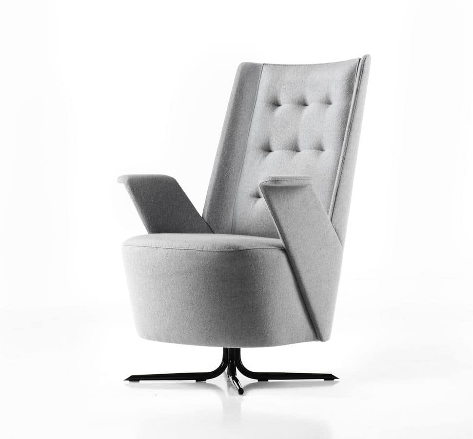 Merveilleux Embrace Armchair, Ergonomic Chair With Spring System, For Home Or Office