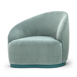 Euforia system 00163DX - 00164SX, Elegant armchair for home and contract areas
