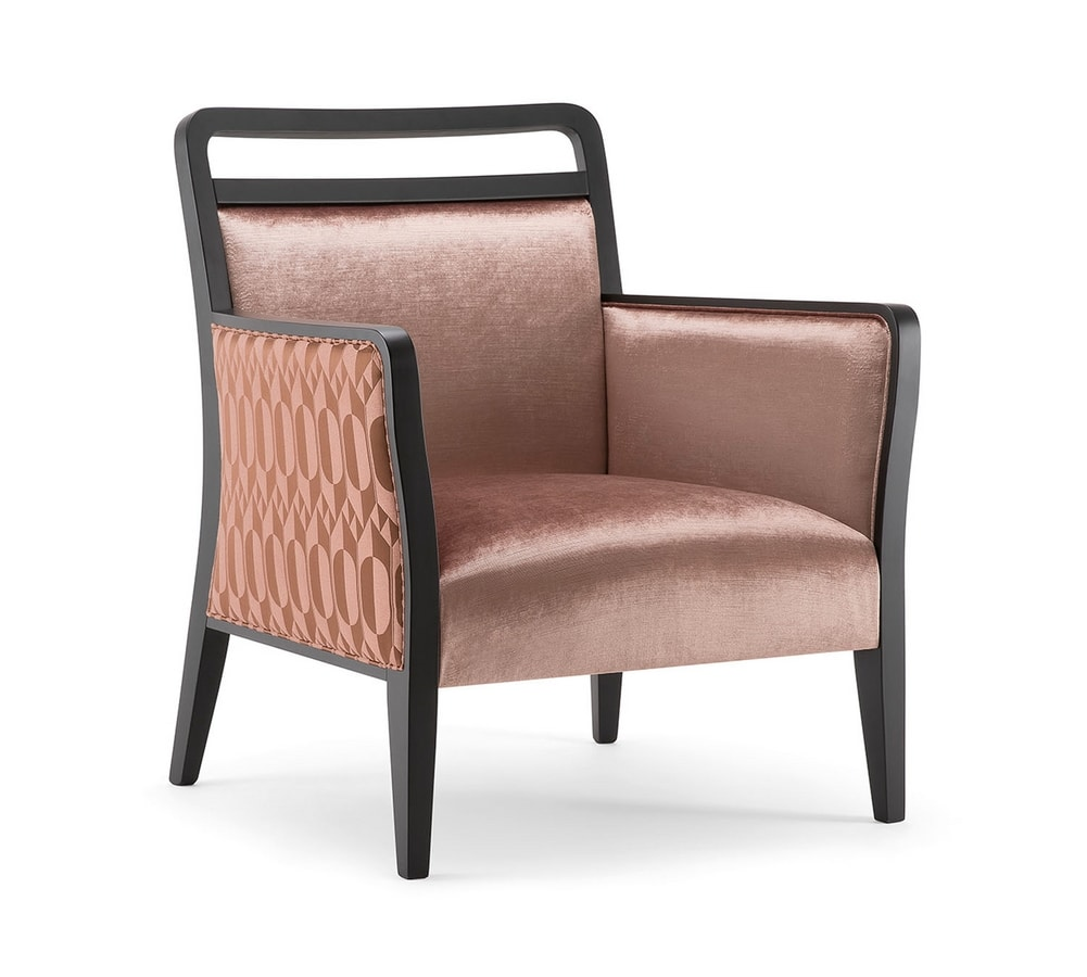 HAVANA LOUNGE CHAIR 020 P, Elegant and comfortable armchair