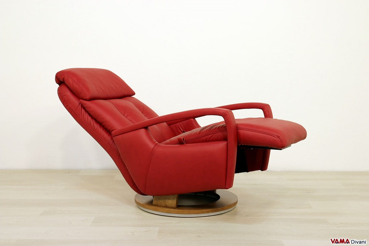 Jo Relax Divani.Modern Manual Relax Armchair With An Attractive Design