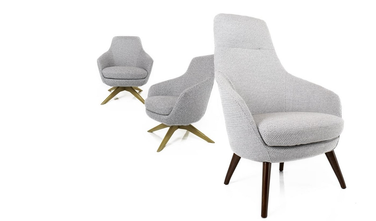 Katy Family, Armchair with high or low backrest