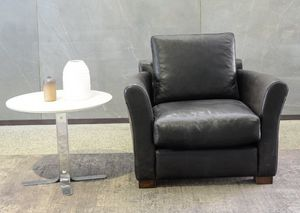 Kim, Outlet leather armchair