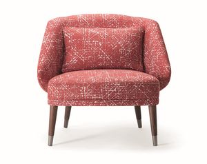 MEG LOUNGE CHAIR 071 P, Cozy upholstered armchair
