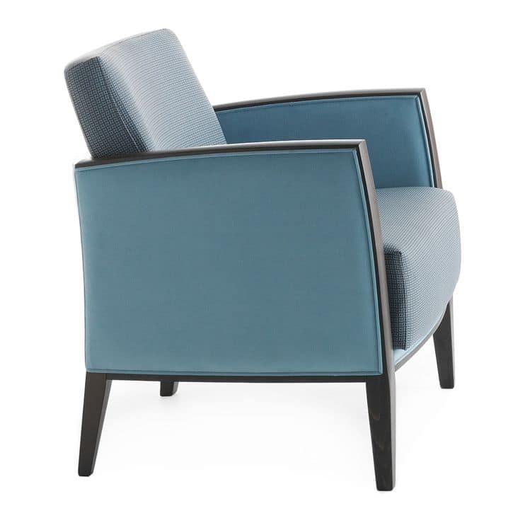 Newport 01841, Comfortable armchair for lounge areas