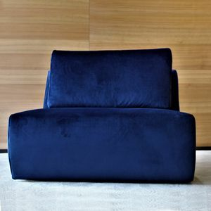 POL-PRO1V-DDG, Outlet armchair upholstered in fabric