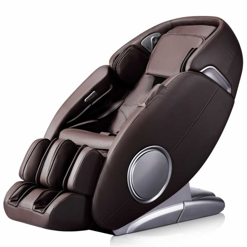Professional Massage Chair IRest Sl-A389 GALAXY EGG - PM389EGGM, Massage leather armchair with footrest