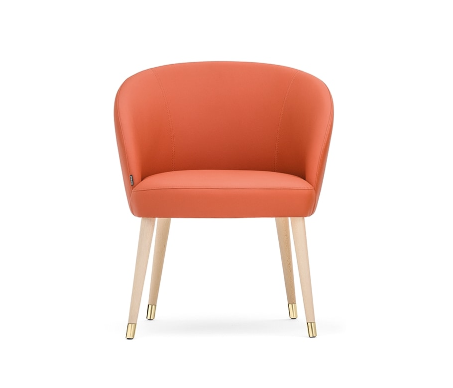 Rose 03060-61-69, Lounge chair with wide seat