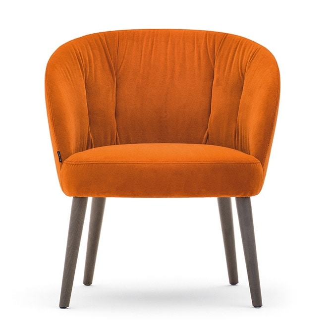 Rose 03070-71-79, Lounge chair with low seat