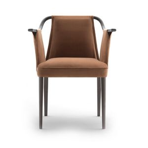 Sayo 03821, Armchair with solid wood frame